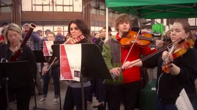 Detroit Medical Orchestra | Eastern Market Flashmob